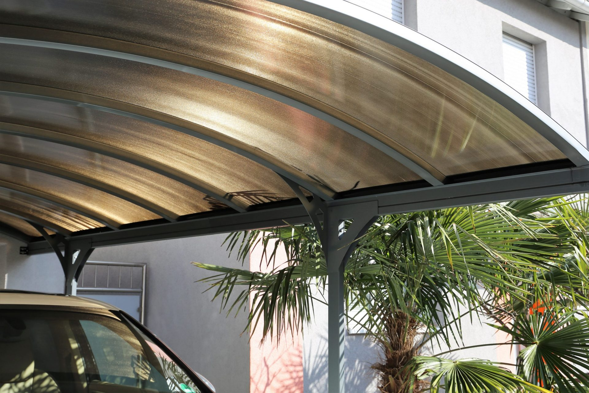 Dome shaped carport builder in Sydney