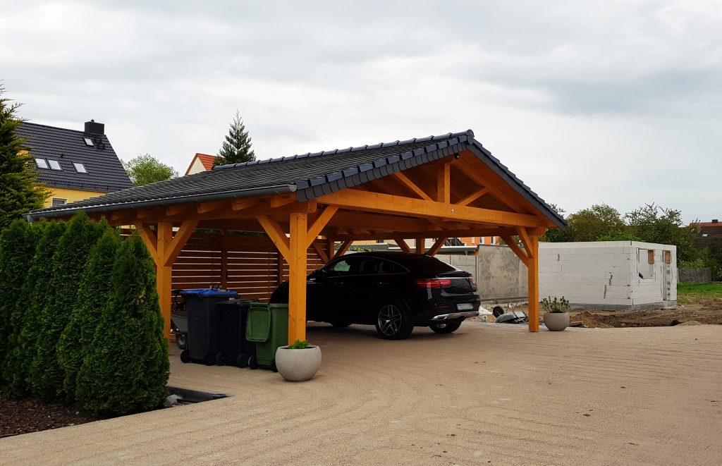 pitched or gable roof carport installation in Sydney