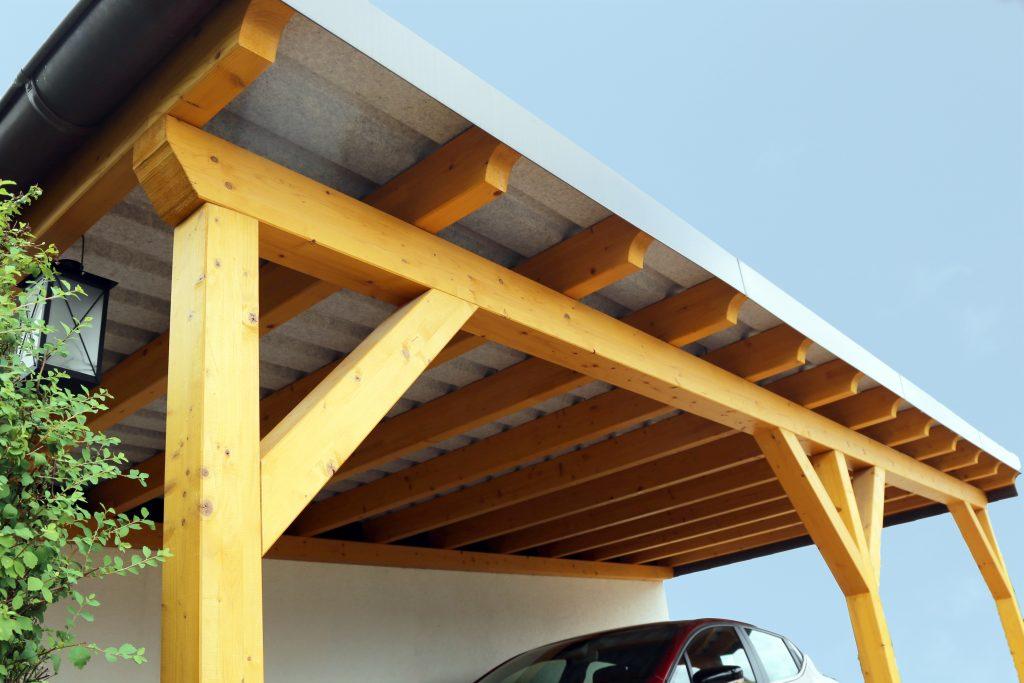 timber wooden carports